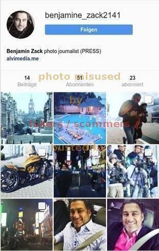 Fake - Scam - Fraud - Info - instagram com_Benjamin